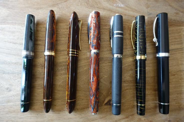 Italian fountain pens; Omas and Visconti